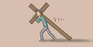 prendre sa croix