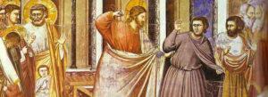 Jésus en colère dans le temple
