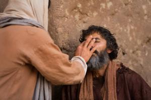 Jésus guérit un aveugle 1