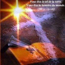 5ième Dimanche du Temps Ordinaire – par le Diacre Jacques FOURNIER (Mt 5,13-16).