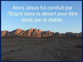 1er Dimanche de Carême  par Francis COUSIN