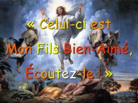 2ième Dimanche de Carême – Homélie du Père Louis DATTIN