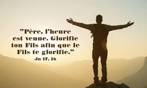 7ième Dimanche de Pâques – par le Diacre Jacques FOURNIER (Jn 17,1-11).