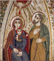 La Sainte Famille – par Francis COUSIN