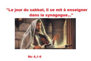14ième Dimanche du Temps Ordinaire – par le Diacre Jacques FOURNIER (Mc 6, 1-6)