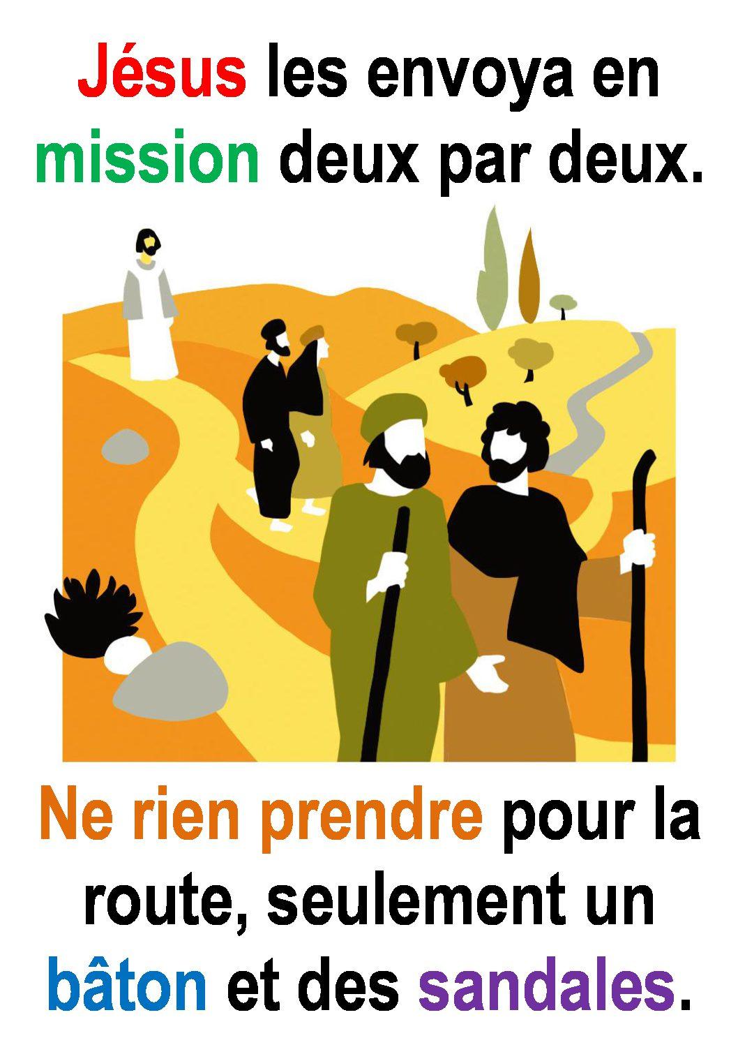 15ième Dimanche du Temps Ordinaire (Mc 6,7-13) – par Francis COUSIN