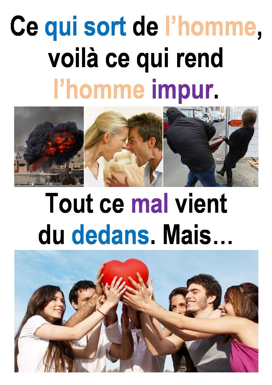 22ième Dimanche du Temps Ordinaire – par Francis COUSIN (Marc 7, 1-8.14-15.21-23)