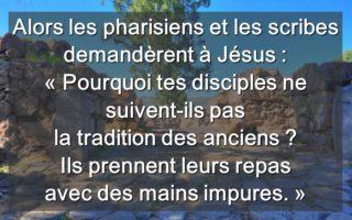 22ième Dimanche du Temps Ordinaire –  Claude WON FAH HIN