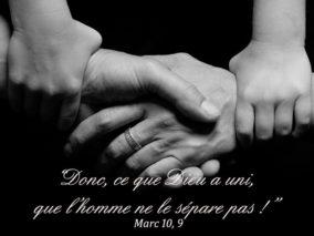 27ième Dimanche du Temps Ordinaire – par le Diacre Jacques FOURNIER (Mc 10, 2-16)
