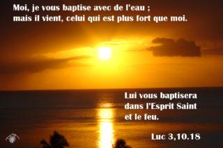 3ième  Dimanche de l'Avent – Homélie du Père Louis DATTIN
