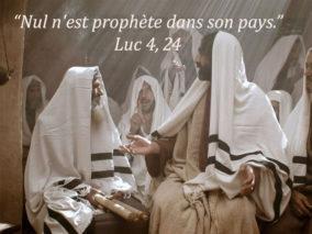 4ième Dimanche du Temps Ordinaire – par le Diacre Jacques FOURNIER (Lc 4,21-30)