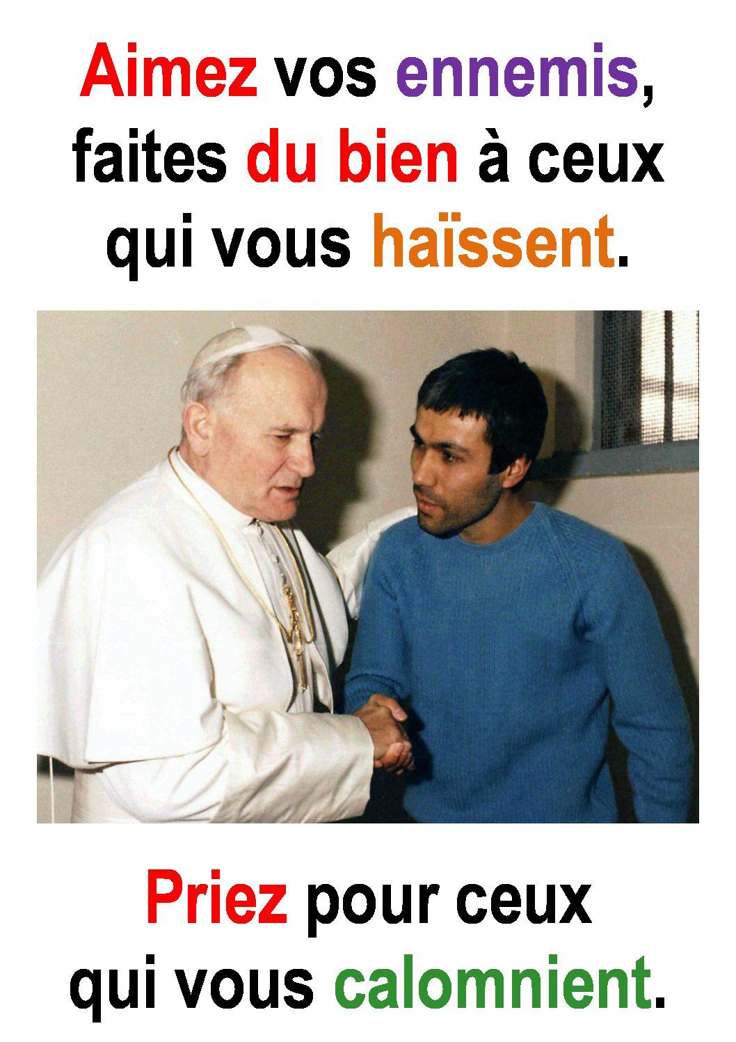 7ième Dimanche du Temps Ordinaire  (Luc 6, 27-38) : «Aimez-vous les uns les autres comme je vous ai aimés.» (Francis Cousin)