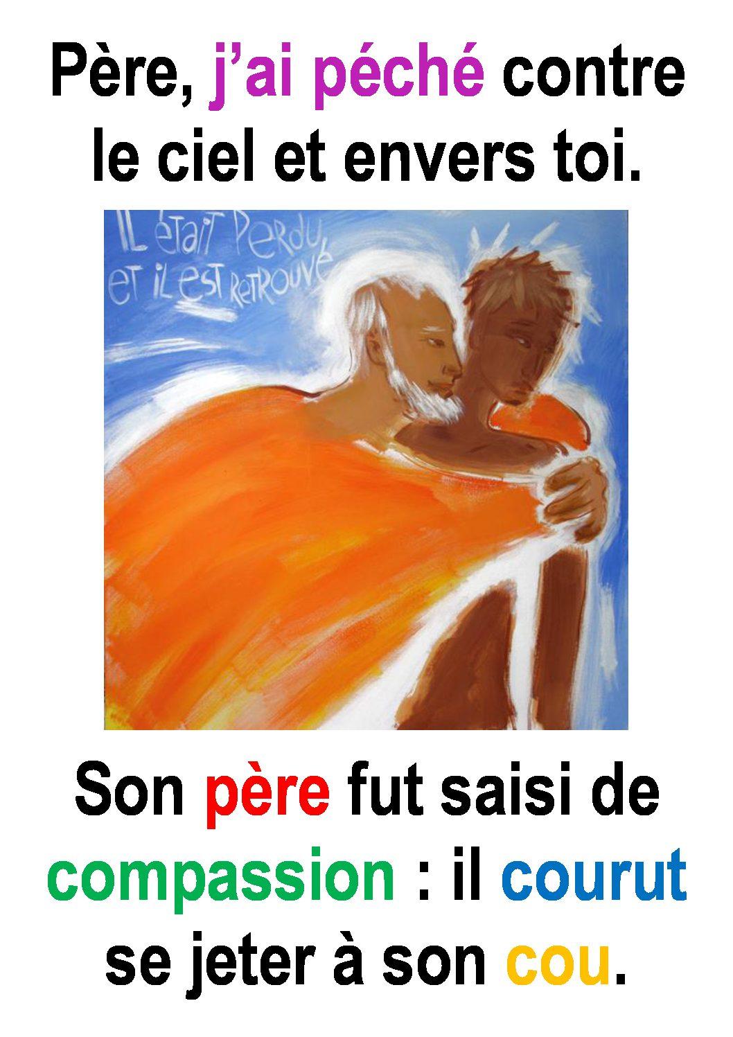4ième  Dimanche de Carême  (Luc 15, 1-3.11-32) : ««Il rentra en lui-même.» (Francis Cousin)