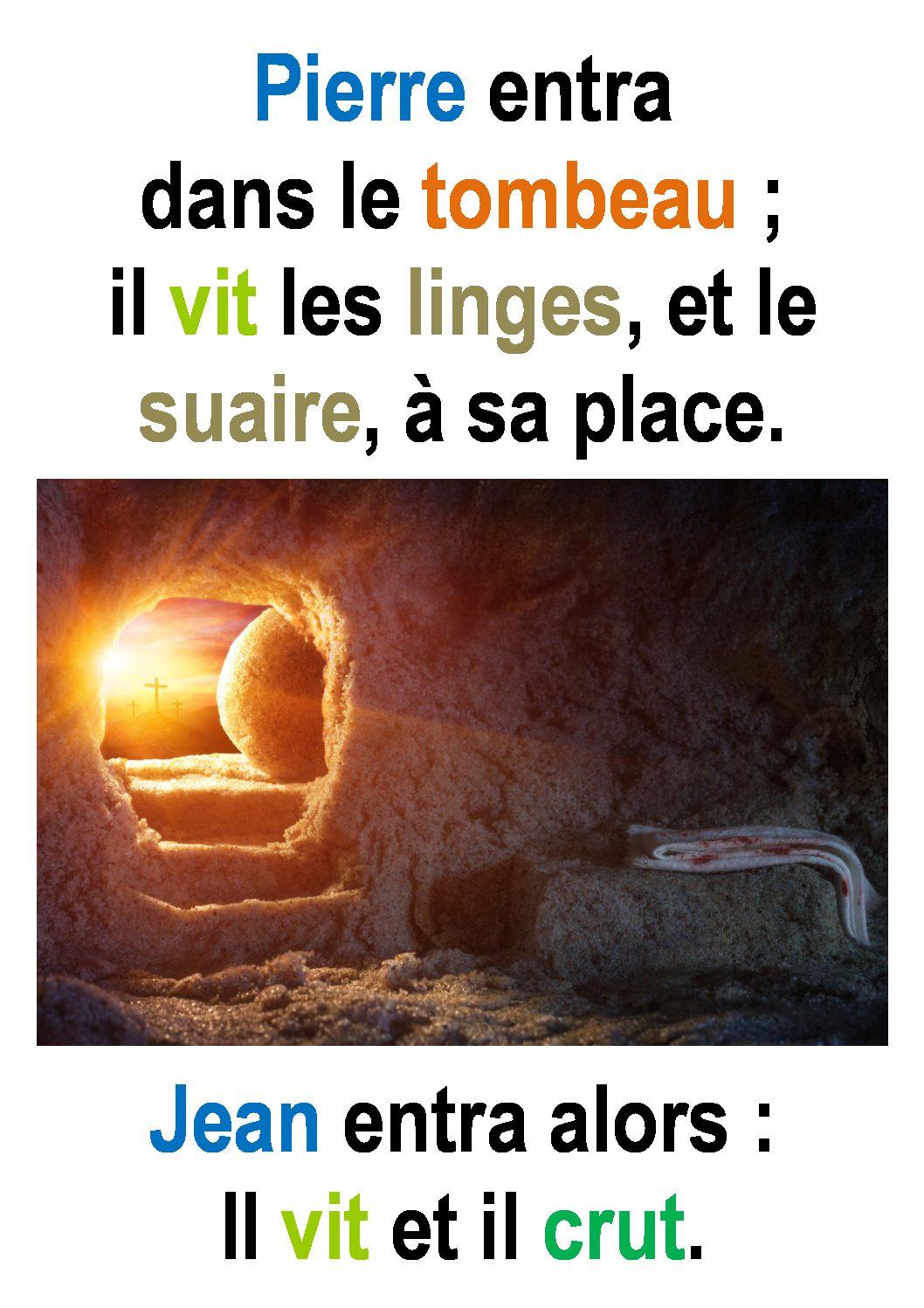 Dimanche de Pâques ( Luc 20, 1-9) : «Absent … mais toujours présent.» (Francis Cousin)