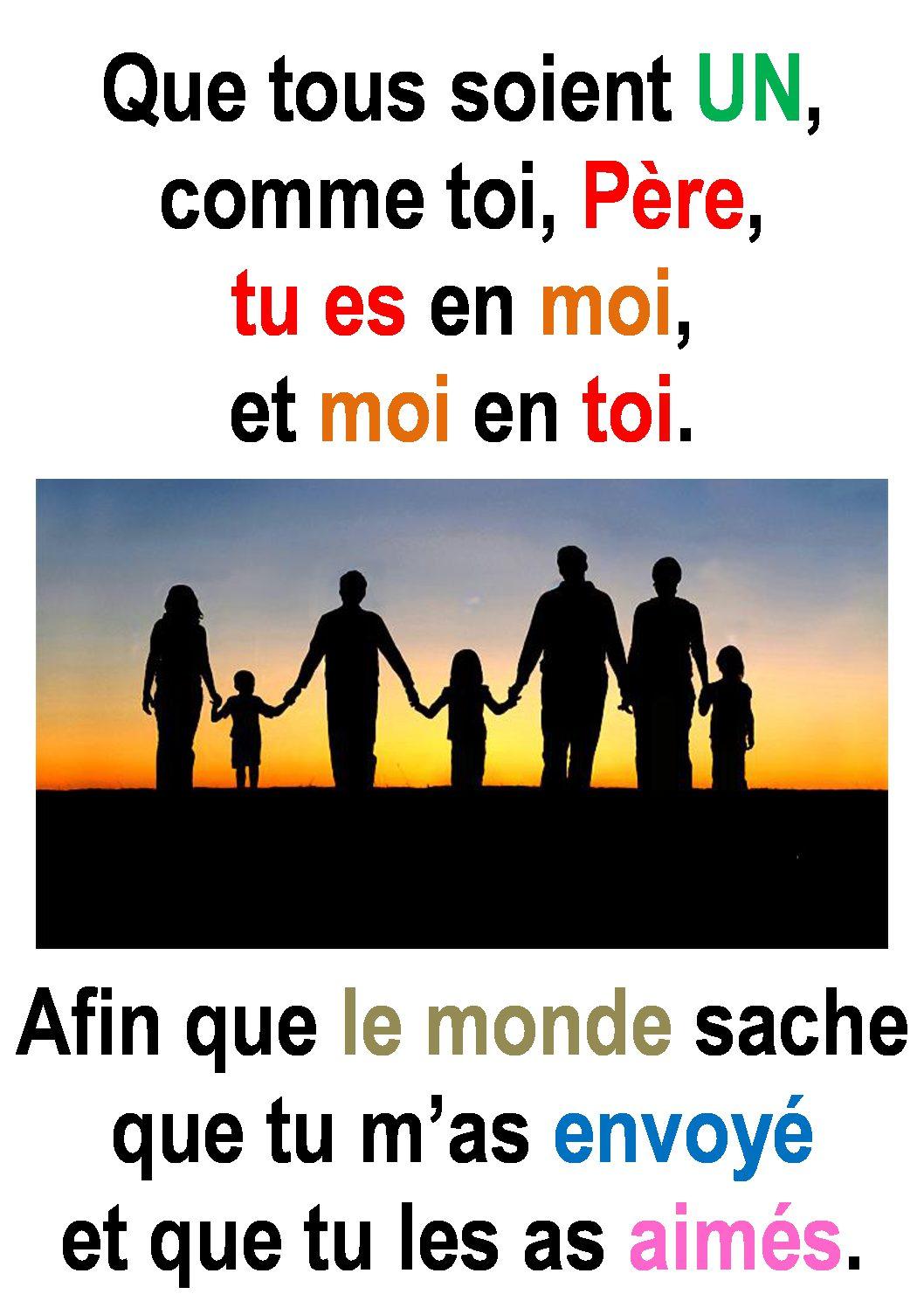 7ième Dimanche de Pâques ( Jean 17, 20-26) : « Père… » (Francis ...