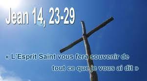 6ième Dimanche de Pâques – par le Diacre Jacques FOURNIER (St Jean Jn 14, 23-29)