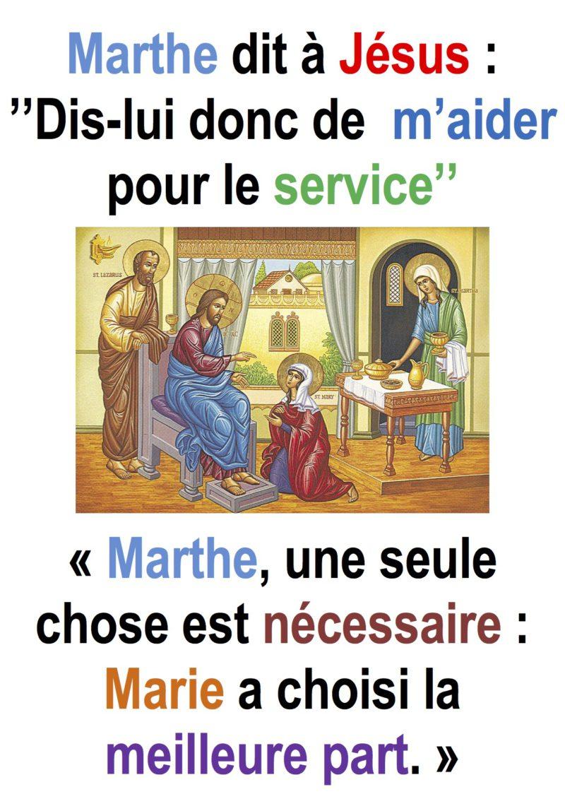 16ième Dimanche du Temps Ordinaire – Francis Cousin (Lc 10,38-42)