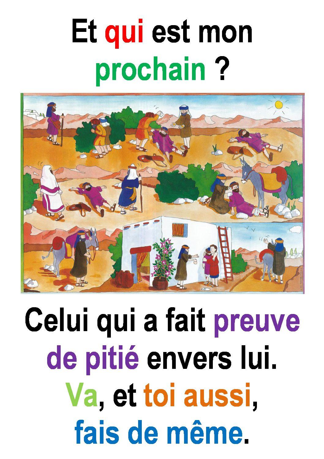 15ième Dimanche du Temps Ordinaire  (Luc 10, 25-37 ) : «Va, et toi aussi, fais de même.» (Francis Cousin)