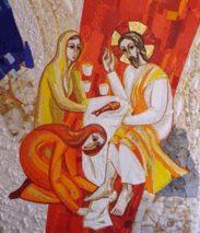 16ième Dimanche du Temps Ordinaire – par le Diacre Jacques FOURNIER (St Luc 10,38-42)