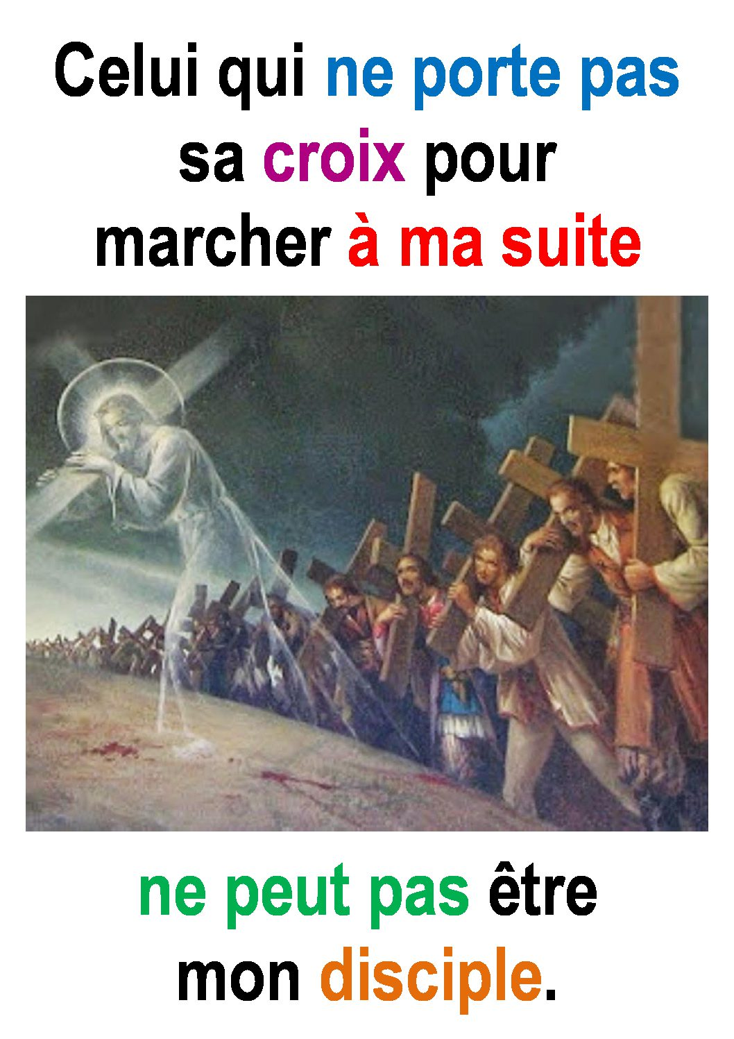 23ième Dimanche du Temps Ordinaire – par Francis COUSIN (St Luc 14, 25-33)