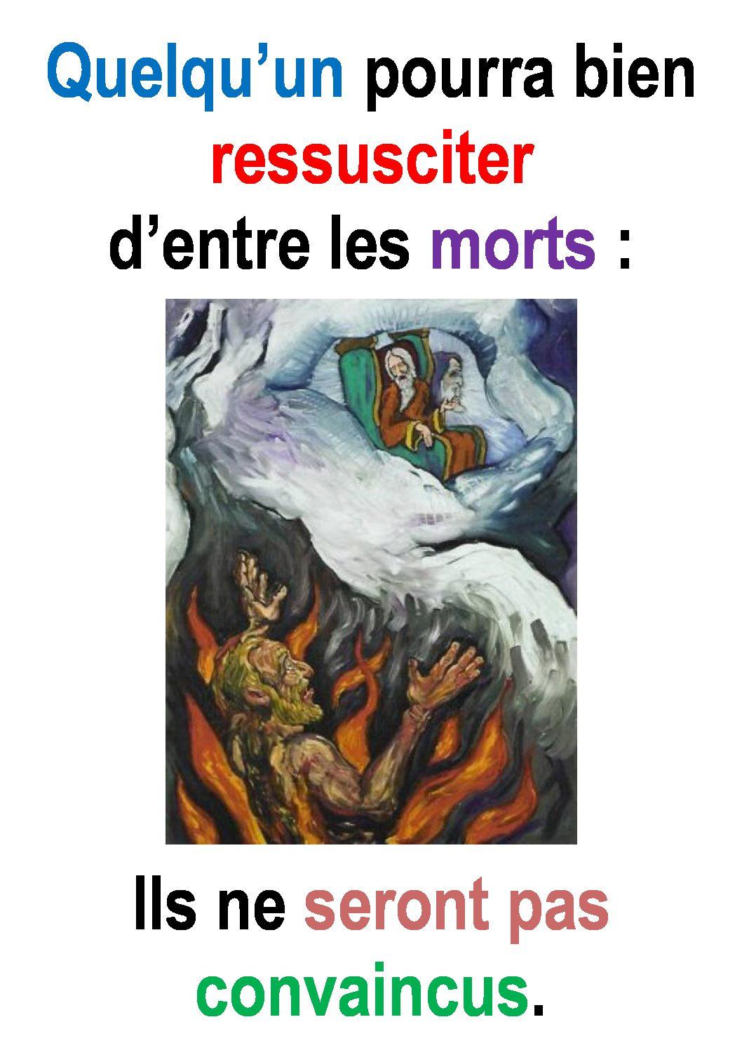 26ième Dimanche du Temps Ordinaire – par Francis COUSIN (St Luc 16, 19-31)
