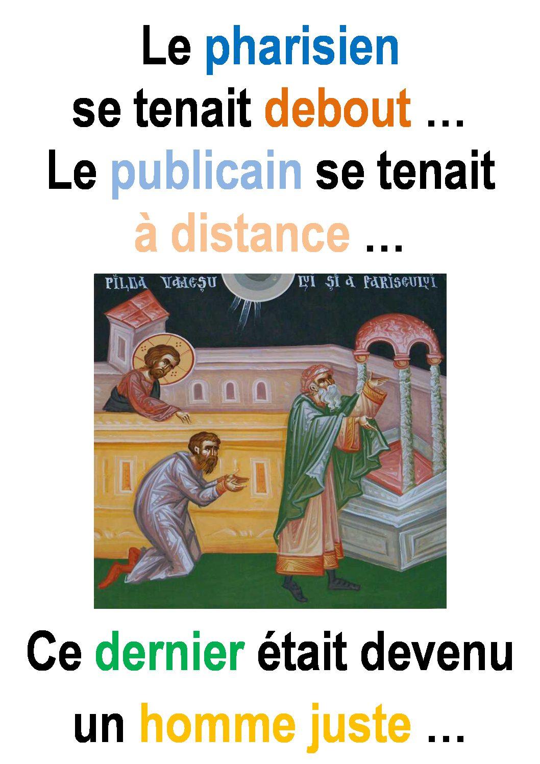 30ième Dimanche du Temps Ordinaire – par Francis COUSIN (St Luc 18, 9-14)