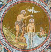 Le Baptême du Seigneur – par Francis COUSIN (St Matthieu 3, 13-17)