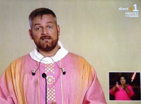Homélie du Père Sébastien VAAST (Messe télévisée du dimanche 22 mars)