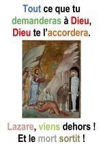 5ième Dimanche de Carême – par Francis COUSIN (Jn 11, 1-45).