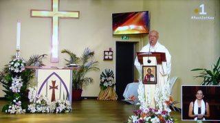 Messe de Pâques : homélie de Mgr Gilbert Aubry (12/04/2020)