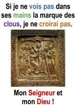 « Si je ne vois pas dans ses mains la marque des clous … » (Jn 20,19-31 ; 2° Dimanche de Pâques – Francis COUSIN)