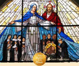 """"""" La Vierge Marie, patronne de l'Ordre des prêcheurs """" (Fr Manuel Rivero O.P.)"""