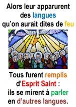 «L'Esprit-Saint … qu'en avons-nous fait?» (Jn 20, 19-23) ; La Pentecôte – Francis COUSIN)