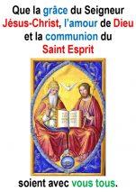 La Sainte Trinité (Jn 3, 16-18) – Francis COUSIN)
