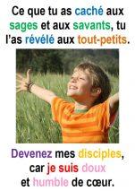 14ième Dimanche du Temps Ordinaire (Matth 11, 25-30) – Francis COUSIN)
