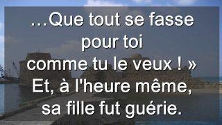 20ième Dimanche du Temps Ordinaire  – par Claude WON FAH HIN