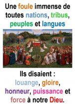 Toussaint (Matth 5, 1-12) – Francis COUSIN)