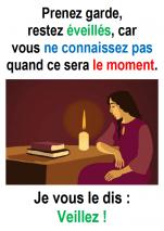 1er Dimanche de l'Avent (Marc 13, 33-37) – Francis COUSIN)