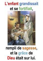La Sainte Famille par Francis Cousin (Lc 2,22-40)