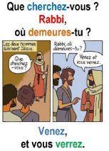 2ième Dimanche du Temps Ordinaire (Jn 1, 35-42) – Francis Cousin