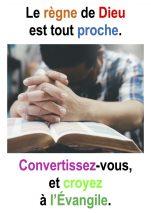 1er Dimanche de Carême (Mc 1, 12-15) – Francis Cousin
