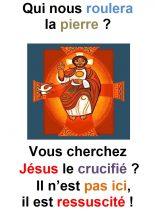 Dimanche de Pâques  (Mc 16, 1-7) – Francis Cousin