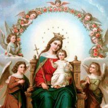 «Ô Marie Reine des anges, daignez nous faire part de Vos grâces»