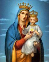 «Ô Reine bénie, Vous avez porté, allaité et adoré le Roi du Ciel»