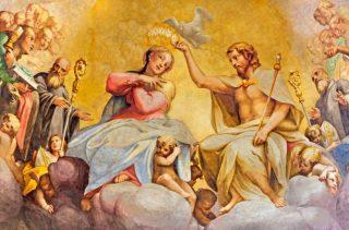 «Ô Marie, Vous éclairez nos ténèbres de la splendeur de Vos vertus»