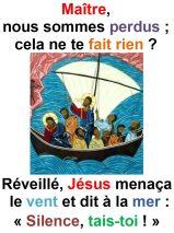 12ième Dimanche du Temps Ordinaire (Mc 4, 35-41) – Francis Cousin