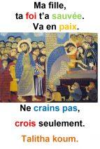 13ième Dimanche du Temps Ordinaire (Mc 5, 21-43) – Francis Cousin
