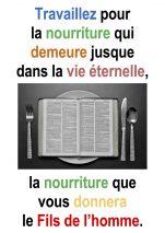 18ième Dimanche du Temps Ordinaire – Francis COUSIN (Jn 6,24-35)